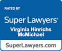 Super Lawyers accolade for Virginia Hinrichs McMichael